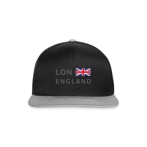 LON ENGLAND BF dark-lettered 400 dpi - Snapback Cap