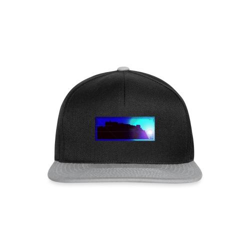 Silhouette of Edinburgh Castle - Snapback Cap