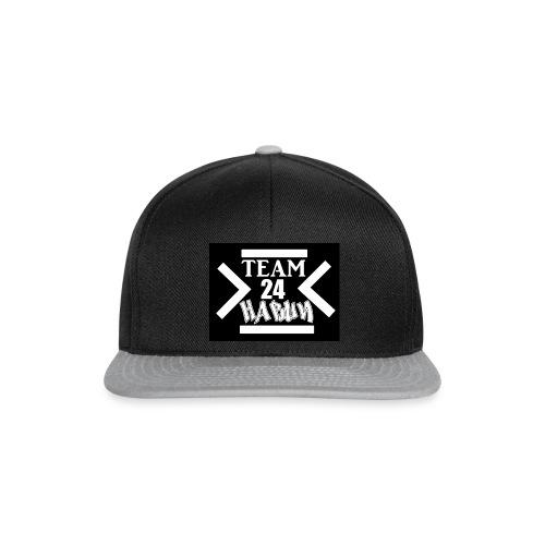 schwarz black new seallpol png - Snapback Cap