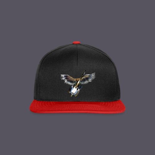 Greifvogel mitGitarrenbeute - Snapback Cap