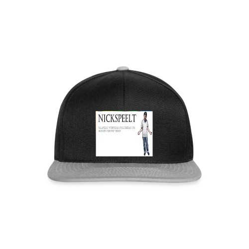 NickSpeelt merchandise - Snapback cap