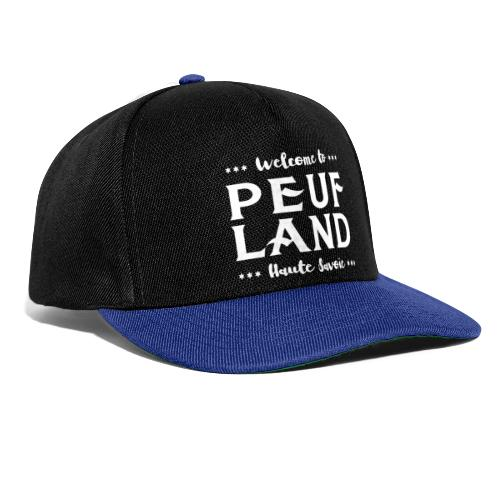 Peuf Land 74 - white - Casquette snapback