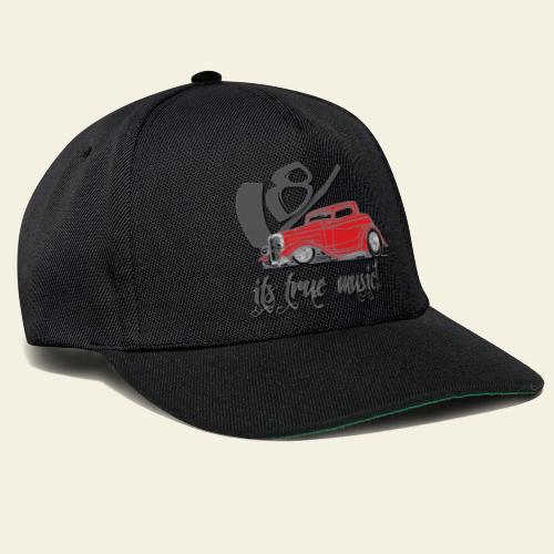 v8 true music - Snapback Cap