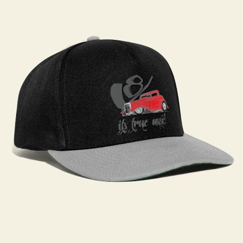 v8 true music - Snapback Cap