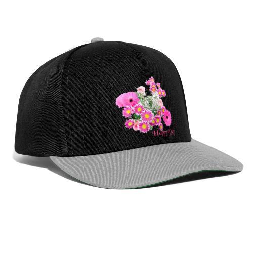 Happy Day Blumen - Snapback Cap