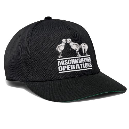 AO - Arschkriecher Operations - Snapback Cap
