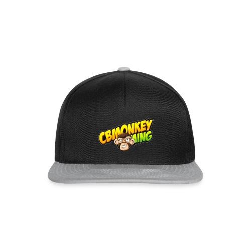 CBMonkey Logo fw png - Snapback Cap