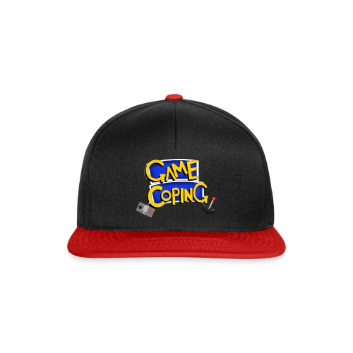 Game Coping Logo - Snapback Cap