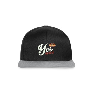 YES-we did it_white - Snapback Cap