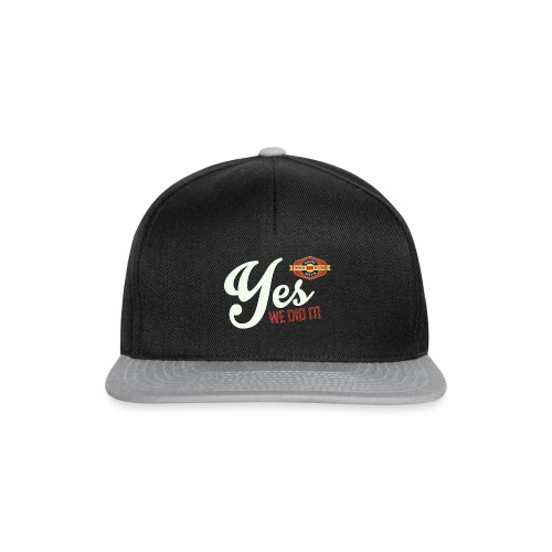 YES-creme-nappo - Snapback Cap
