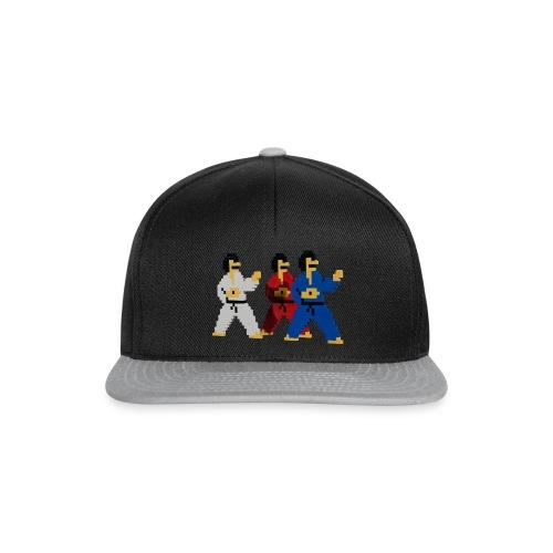 8 bit trip ninjas 1 - Snapback Cap