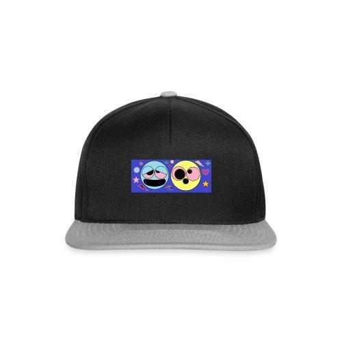 allucinazioni_da_acido_con_logo-png - Snapback Cap