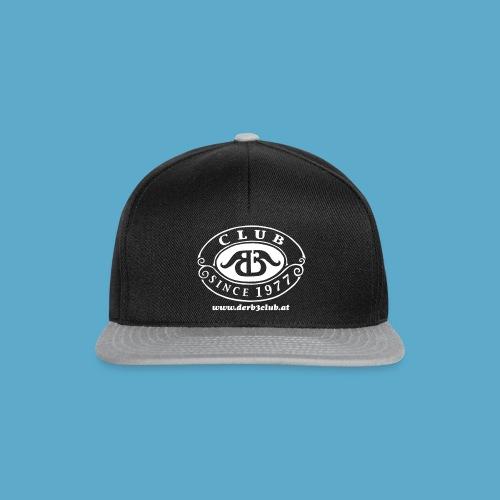 B3Club weiß groß png - Snapback Cap