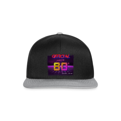 Official product of the 80's clothing - Snapback Cap