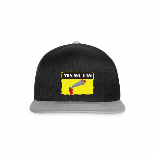 Yes, we can! - tear / Equivoco- strappo - Snapback Cap