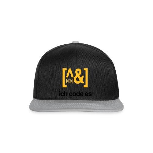 ich code es - Thermobecher - Snapback Cap