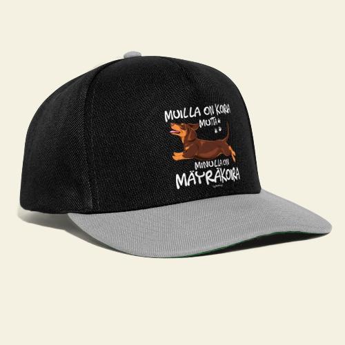 Mäyräkoira LK Koiria 2 - Snapback Cap