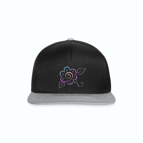 Tonalidades de en flor - Gorra Snapback