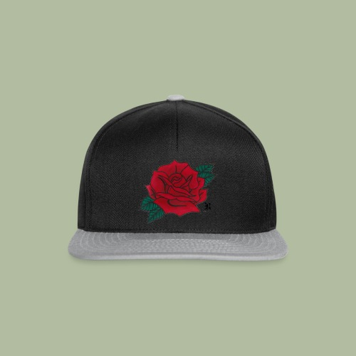 Red Rose - Casquette snapback