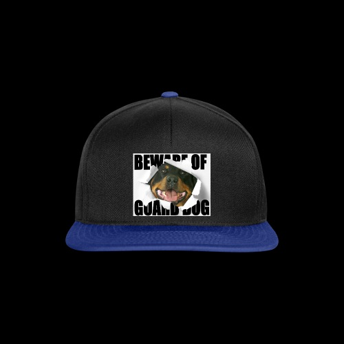 beware of guard dog - Snapback Cap