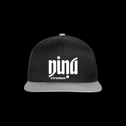 Ambigramm Nina 01 Pit Hammann - Snapback Cap
