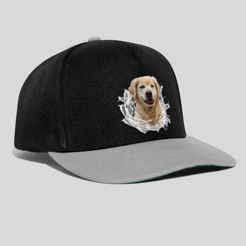Golden im Glasloch - Snapback Cap