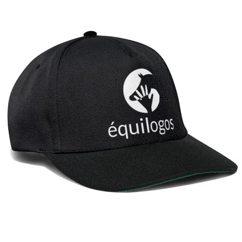 Equilogos logo blanc - Casquette snapback