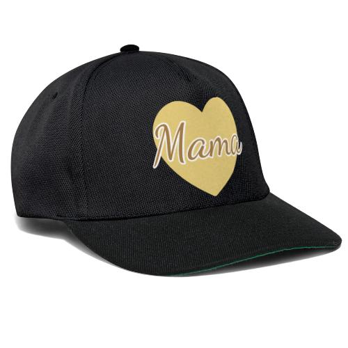 mama herz 01 - Snapback Cap