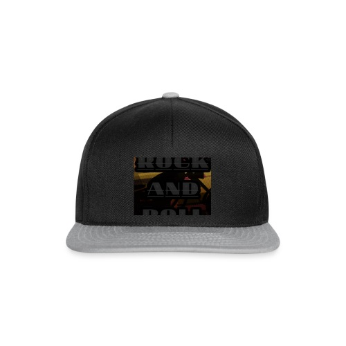 Rock and roll - Snapback Cap