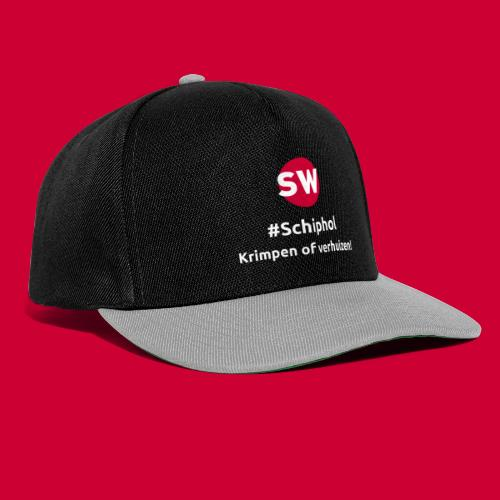 #Schiphol - krimpen of verhuizen! - Snapback cap