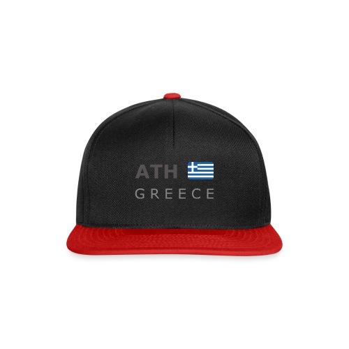 ATH GREECE dark-lettered 400 dpi - Snapback Cap