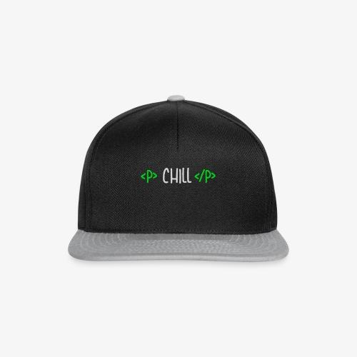 HTML Chill Design Edition - Snapback Cap