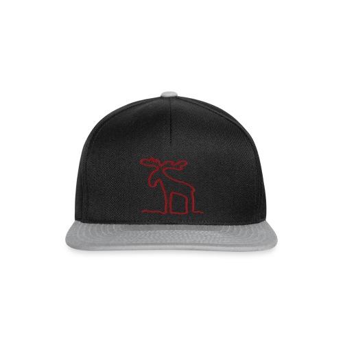 Linien-Elch - Snapback Cap
