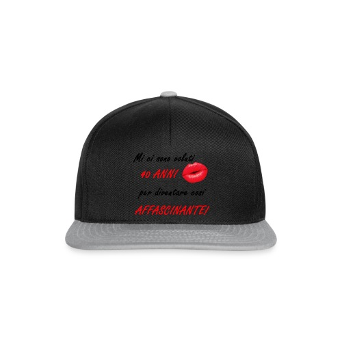 40 ANNI donna - Snapback Cap