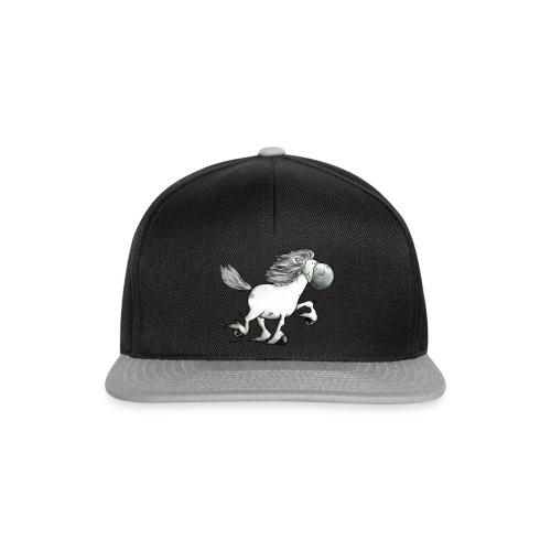 white_horse - Snapback Cap