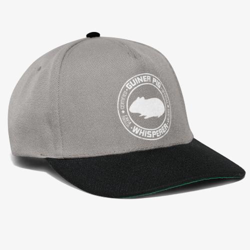 Marsewhisperer White - Snapback Cap