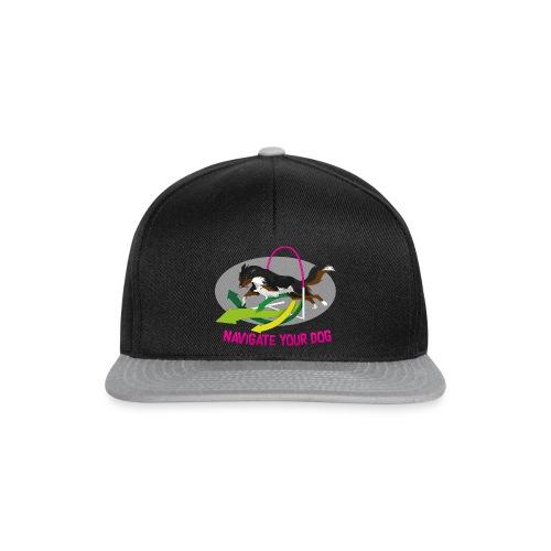 *nyd* Logo (für dunklen Untergrund) - Snapback Cap
