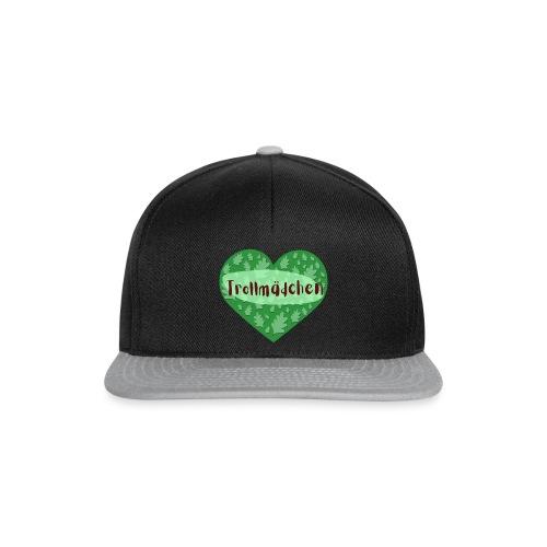 Trollmädchen grün - Snapback Cap