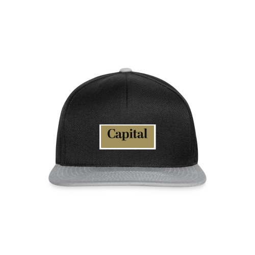 1200px Capital Logo - Snapback Cap
