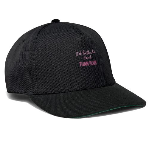 logo pink - Gorra Snapback