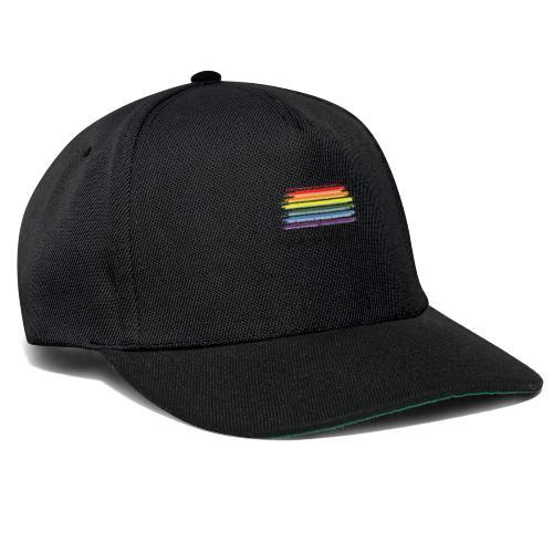 logo lgbt - Gorra Snapback