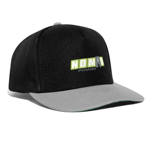Nomadpower logo zonder wit - Snapback cap