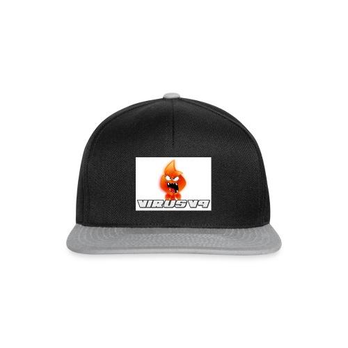 Virusv9 Weiss - Snapback Cap