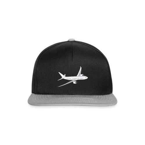 Flugzeug - Snapback Cap