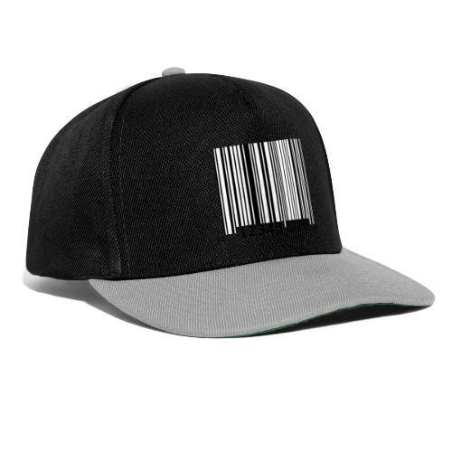 Barcode Tshirt ✅ Jetzt kaufen - Snapback Cap