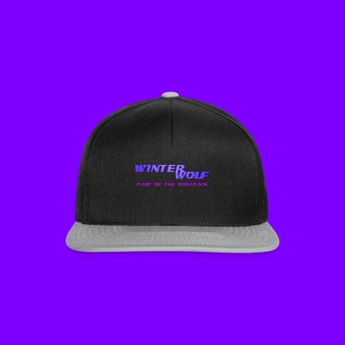 WINTERWOLF LOGO Part of The Wolfpack T-shirt - Snapback cap
