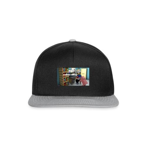novaskin-minecraft-wallpaper-jpg - Snapback cap
