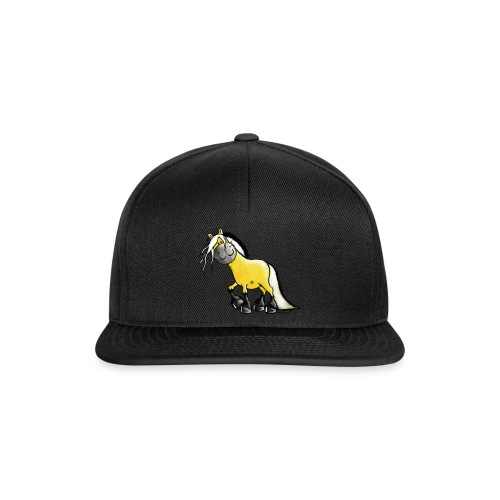 fjord_horse-png - Snapback Cap