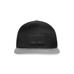 You shall not pass! - Snapback cap