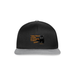Luther-Zitat - Snapback Cap